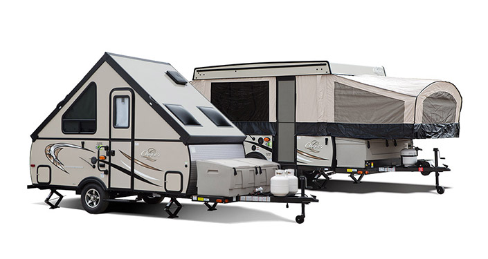 Pop-Up Trailers - Models, Floorplans and more