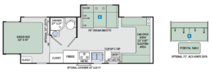 2017-Chateau-Sprinter-24HL-Floor-Plan