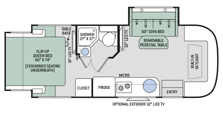 2017-Compass-24TX-Floor-Plan