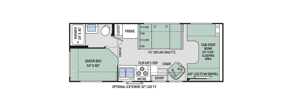 2017-Four-Winds-23U-Floor-Plan