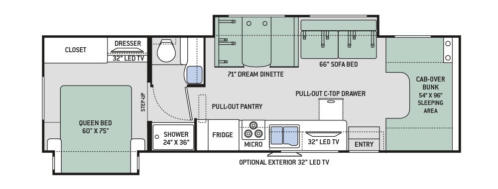 2017-Four-Winds-31L-Floor-Plan