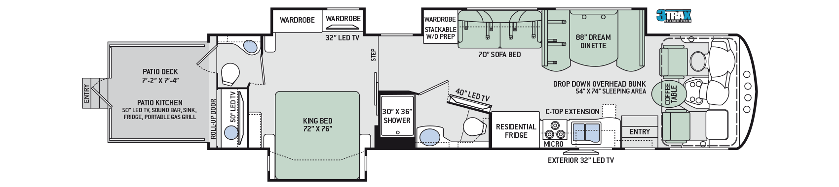 2017-Outlaw-Class-A-38RE-Floor-Plan