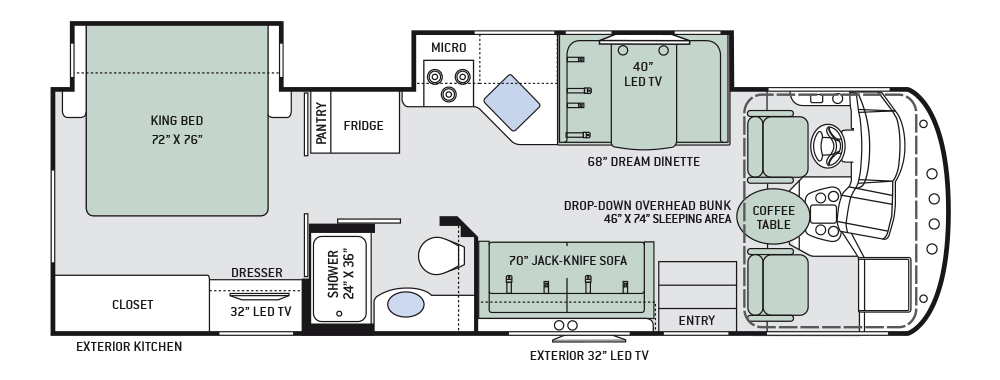 thor rv wiring diagrams wiring diagram technic thor class a motorhomes rv models specifications photo gallerythor 2017 ace 29 4 floor plan