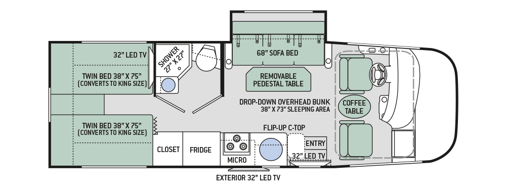 Thor 2017 Axis 24 1 Floor Plan