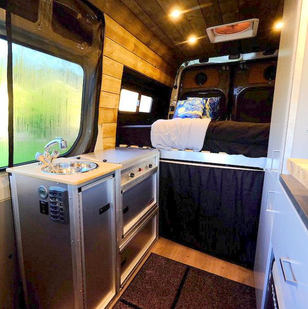 Tk Van Kitchen By Trail Kitchens Campers Amp Gear